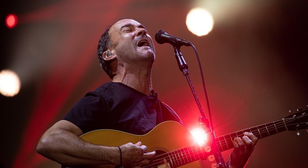 Dave Matthews Band faz show no palco Mundo durante terceiro dia do Rock in Rio 2019 — Foto: Marcelo Brandt/G1