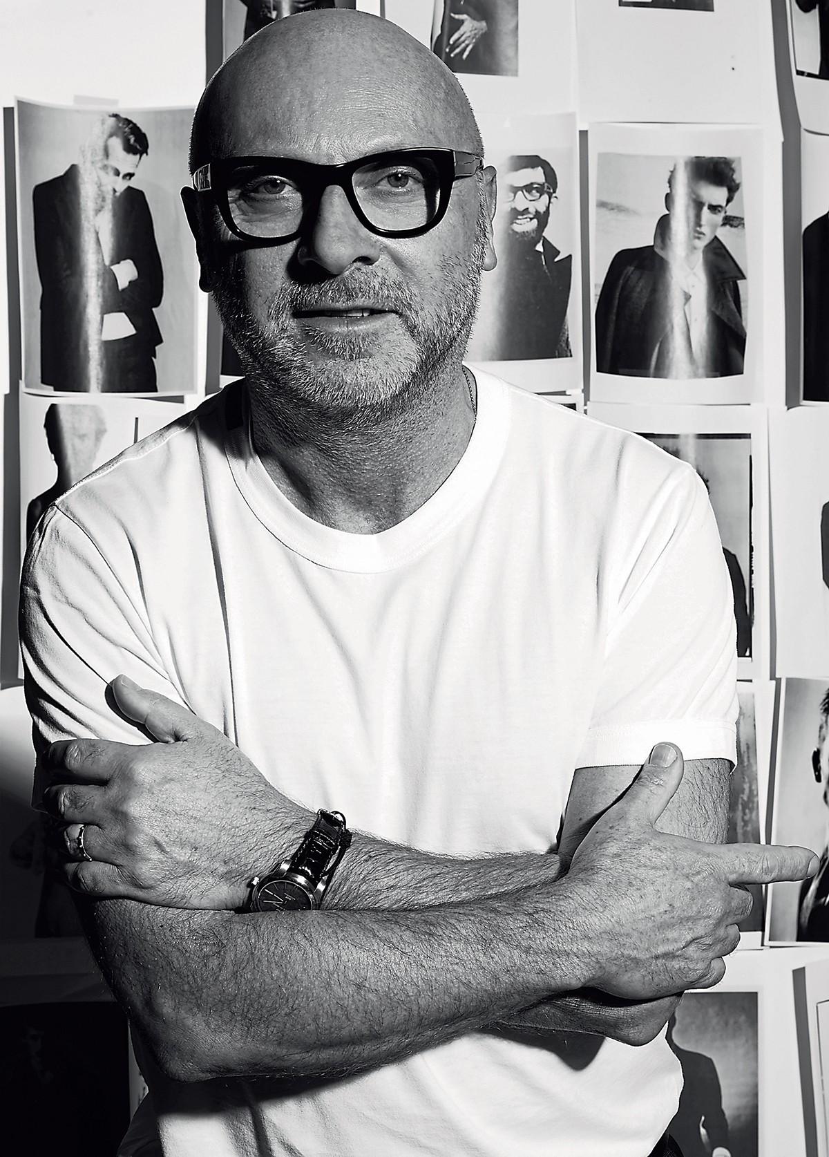 Nascido em um vilarejo na Sicília, Domenico acredita no poder de coleções mais compactas e na valorização do trabalho artesanal local (Foto: Cortesia Dolce & Gabbana)