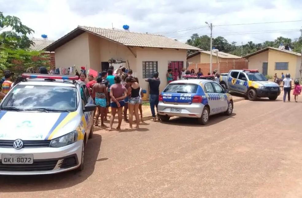 Assassinato aconteceu no setor Lago Azul IV — Foto: Divulgação/Portal Fatos e Notícias