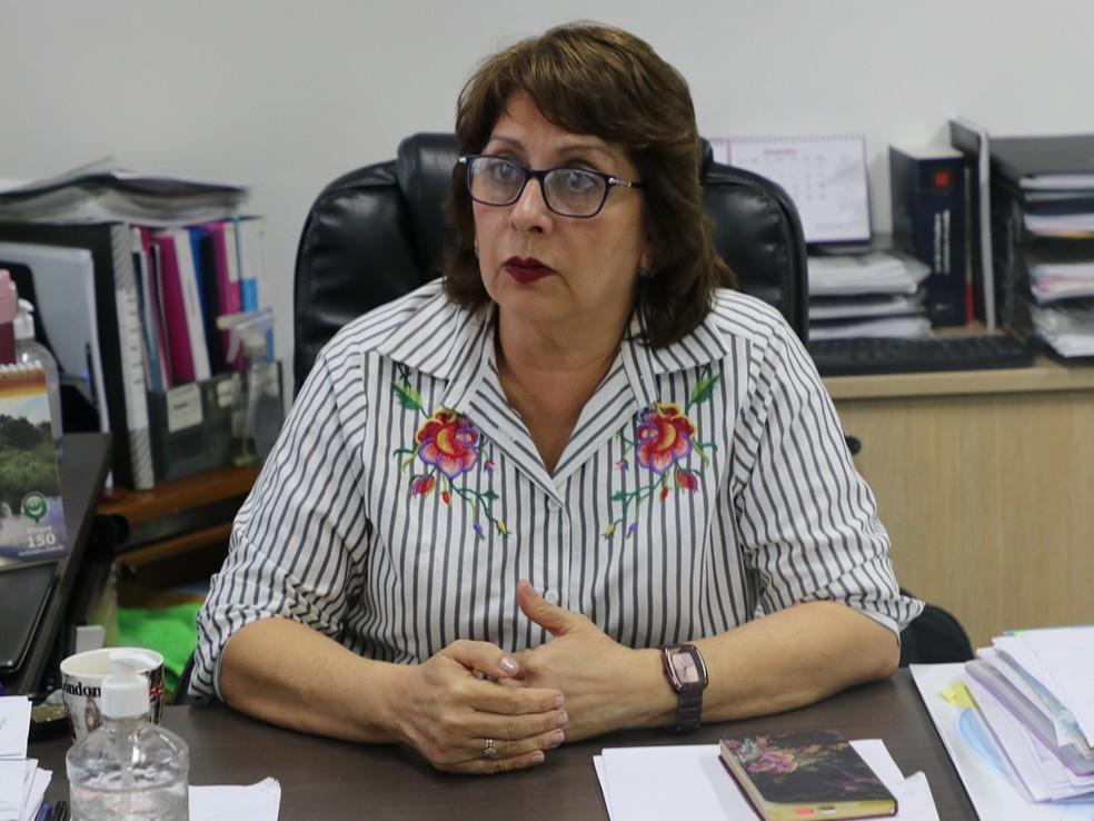 Rosemary Costa Pinto, diretora da FVS, é diagnosticada com Covid — Foto: Divulgação