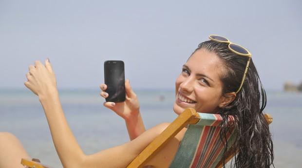 praia, mulher, férias (Foto: Reprodução/Pexels)