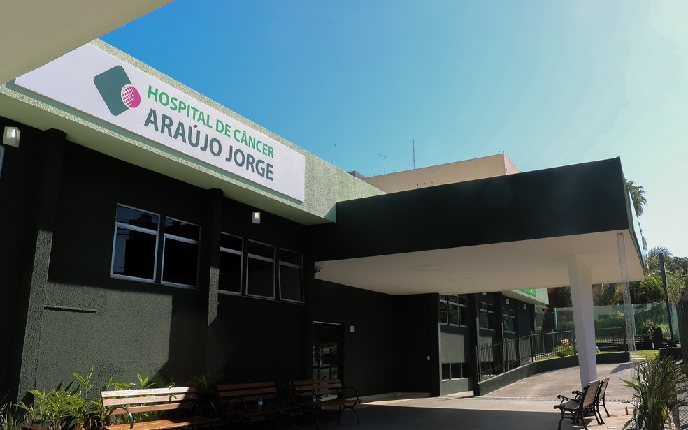 Hospital Araújo Jorge, em Goiânia, Goiás — Foto: Divulgação/HAJ