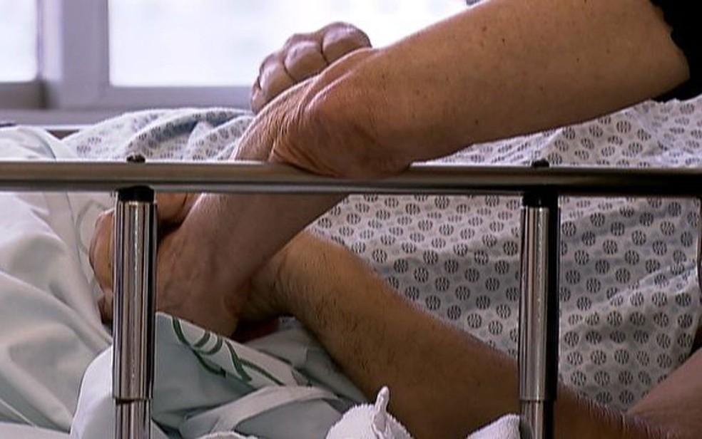 Paciente com doença terminal pode recusar tratamento segundo projeto de lei — Foto: TV Globo/Reprodução
