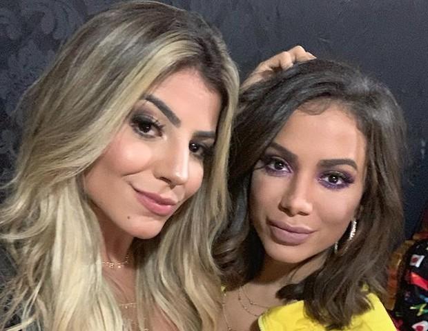 Hariany e Anitta (Foto: Reprodução/Instagram)