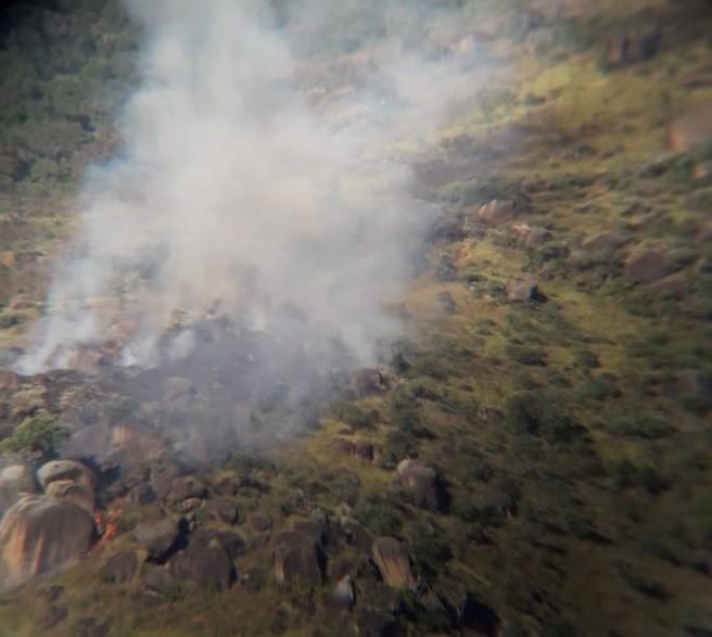 Turista italiano põe fogo na mata ao afastar enxame de abelhas em Atibaia, diz bombeiro - Notícias - Plantão Diário