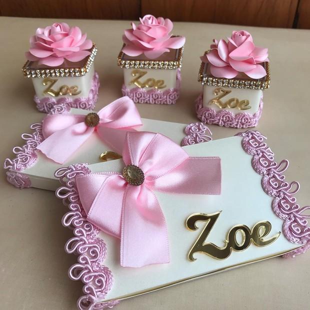 Lembrancinhas de Zoe, filha de Sabrina Sato e Duda Nagle (Foto: Reprodução/Instagram)