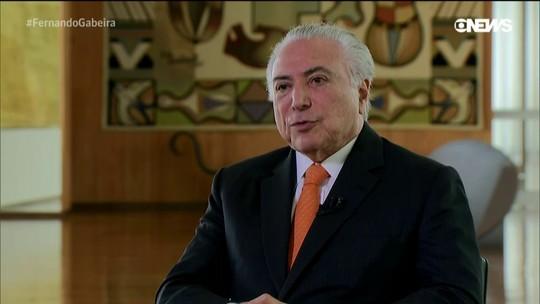 Michel Temer revela os bastidores que levaram à intervenção federal em Roraima