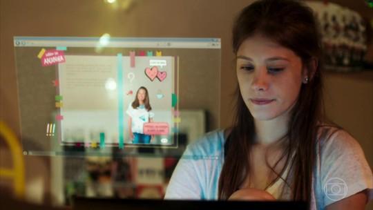 Anjinha tenta arrumar um namorado e conquista fãs de 'Malhação': 'Me sinto igual'