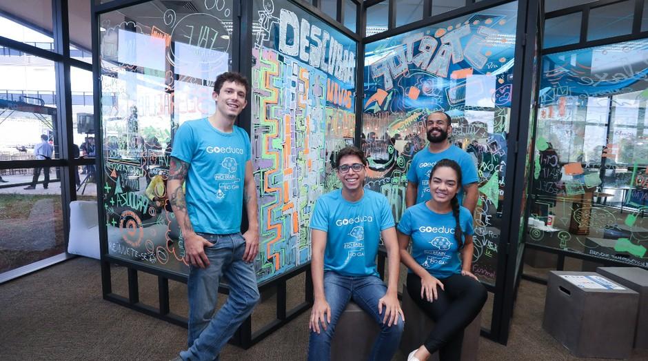 Fundadores da startup Go Educa (Foto: Divulgação)