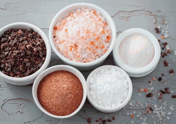 Tipos de sal (Foto: Reprodução/Pinterest)