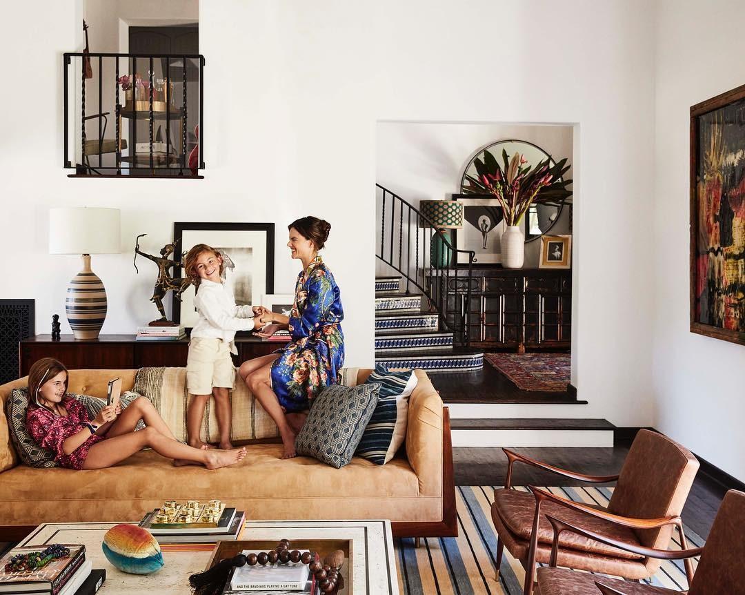 Alessandra Ambrosio com Anja e Noah (Foto: Reprodução/Instagram)