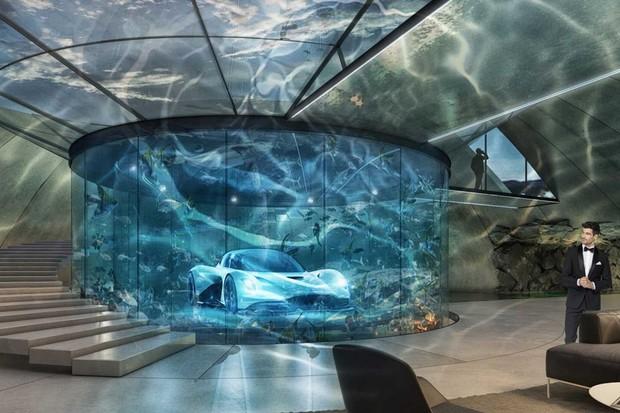 Garagem Aston Martin (Foto: Divulgação)