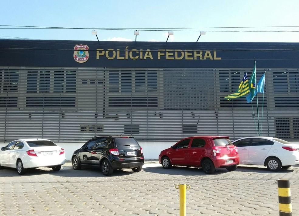 Sede da superintendência da Polícia Federal em Teresina - Piauí — Foto: Ellyo Teixeira/ G1 PI