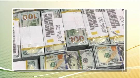 Novas imagens mostram chegada de comitiva com milhões em aeroporto de SP; Receita vai apurar lavagem de dinheiro