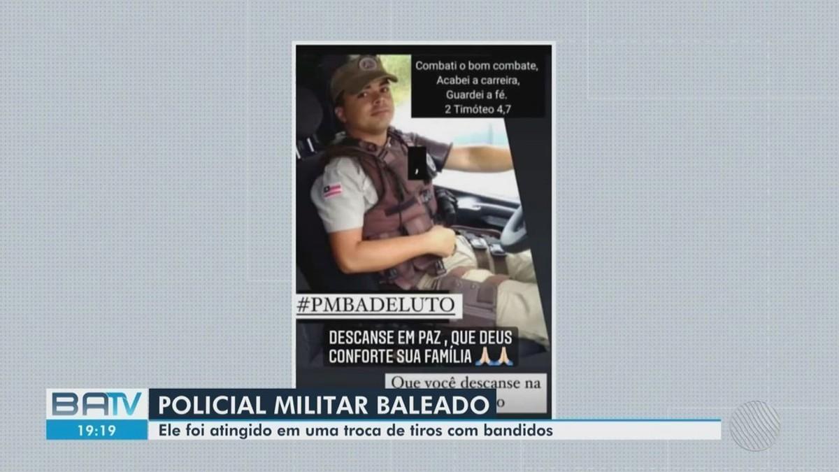 Policial militar é baleado em operação na região metropolitana de Salvador