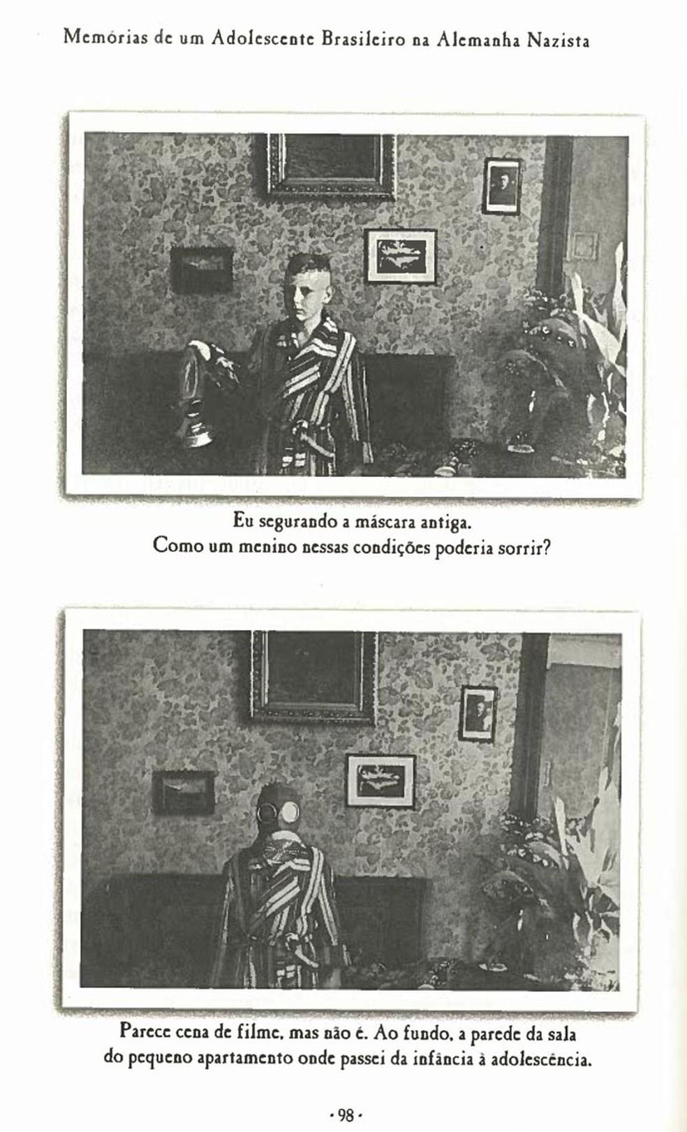 Livro tem imagens históricas do personagem (Foto: Reprodução)