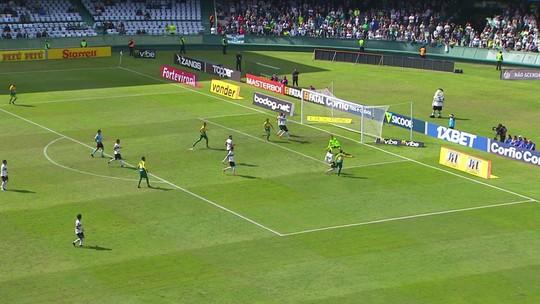 Veja os gols de Rodrigão e os melhores momentos da vitória do Coritiba sobre o Cuiabá