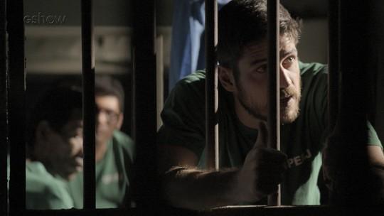 Zeca sai da prisão e fica decepcionado com Jeiza