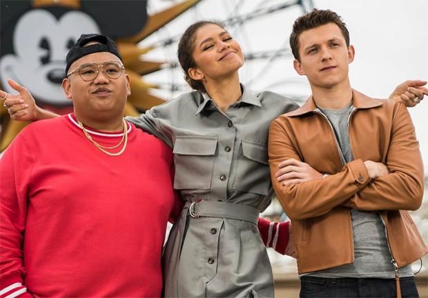 Jacob Batalon, Zendaya e Tom Holland (Foto: Reprodução / Instagram)