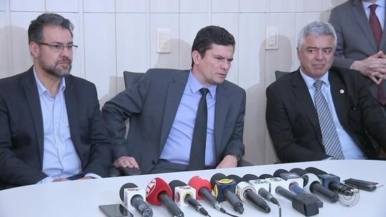 Ministro Sérgio Moro visita Bauru e Marília