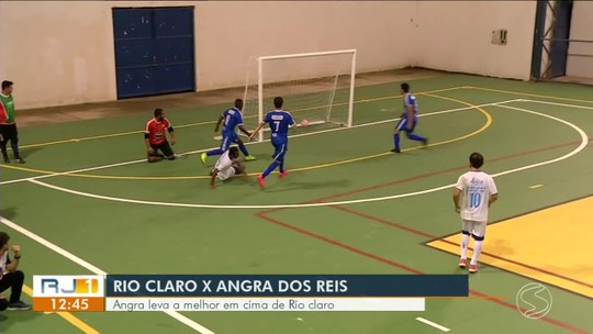Angra dos Reis leva a melhor contra Rio Claro na Copa Rio Sul de Futsal