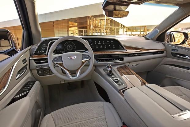 Cadillac Escalade 2021 (Foto: Divulgação)