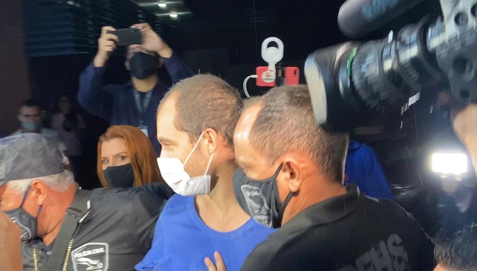 Rafael Rodrigues confessou à polícia que cometeu crime por ciúmes. — Foto: Patrick Marques/G1 AM