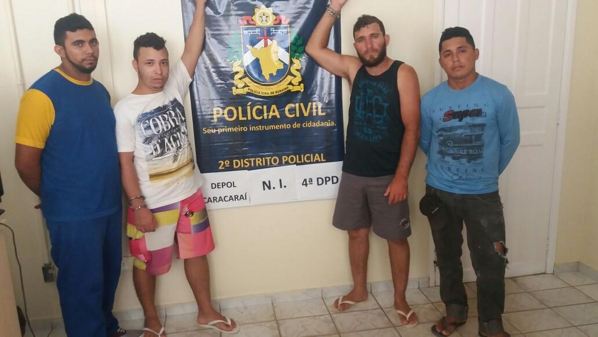 Polícia desarticula quadrilha suspeita de roubar office boy e levar R$ 35 mil em Boa Vista