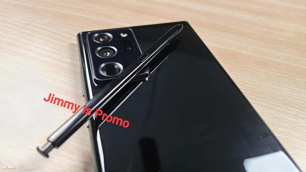 Galaxy Note 20 pode chegar mais barato que o Galaxy Note 10 — Foto: Reprodução/Jimmy Is Promo