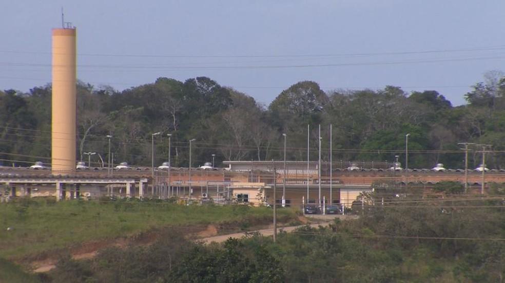 Complexo Penitenciário no bairro Xuri, em Vila Velha — Foto: Arquivo/TV Gazeta