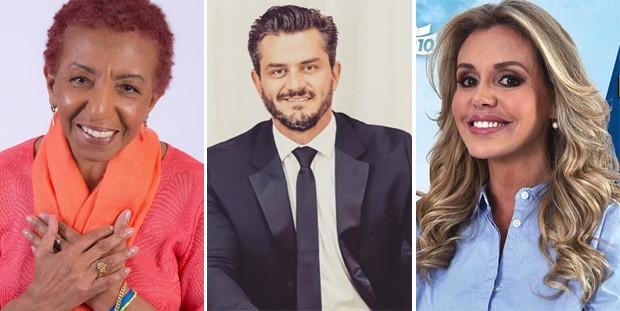 Leci Brandão, Marcos Harter e Renata Banhara (Foto: Reprodução/Instagram)
