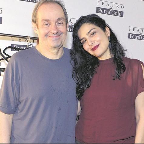 Daniel Dantas e Leticia Sabatella (Foto: Cristina Granato )