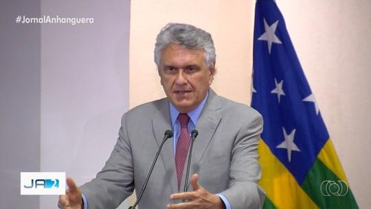Caiado aproveita lançamento de programa para reforçar pedido de empréstimo a Bolsonaro