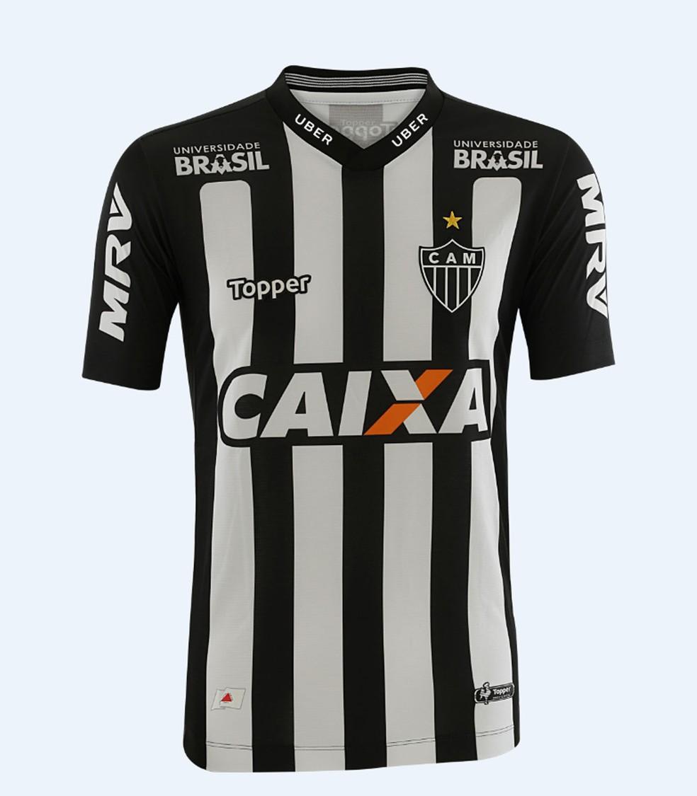 e4ed4e038 ... Camisa número 1 do Galo para a temporada 2018 — Foto  Divulgação    Topper