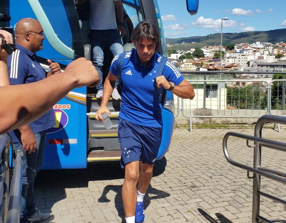 Marcelo Moreno participou de live nesta sexta-feira — Foto: Guilherme Macedo