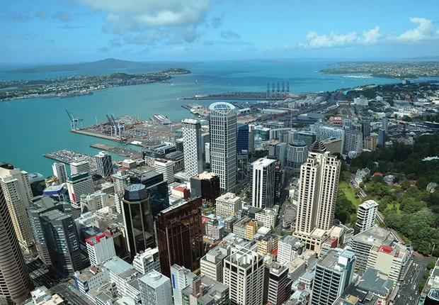 Auckland, na Nova Zelândia (Foto: Wikimedia Commons/Wikipedia)