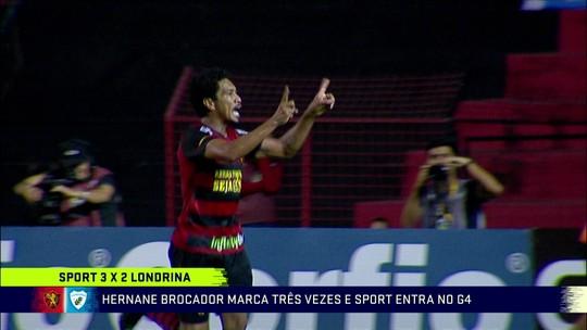 """Ana Thaís Matos cita Ronaldo Fenômeno e aprova apostas de Hernane no Sport: """"Papel do líder"""""""