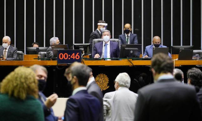 Presidente da Câmara, dep. Arthur Lira PP - AL
