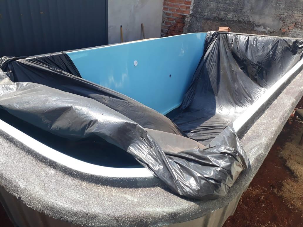 Veja o VÍDEO de piscina de 5 metros de comprimento sendo furtada em Londrina - Notícias - Plantão Diário