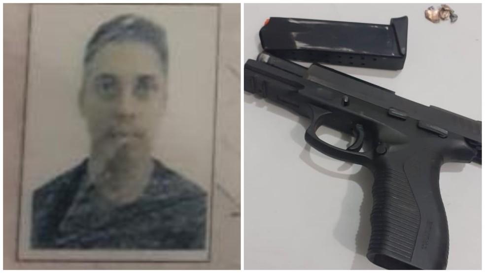Agente penitenciário Jean Stefferson foi preso em flagrante por tentativa de homicídio em São Luís — Foto: Divulgação/Polícia Civil