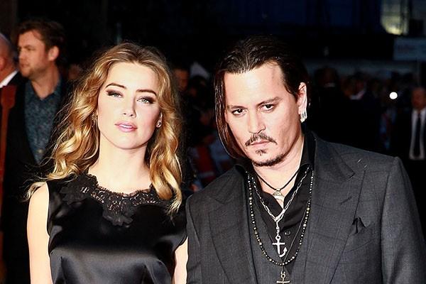 Johnny Depp e Amber Heard (Foto: Getty Images)