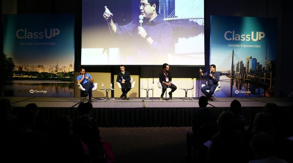 Evento realizado em São Paulo pela ClassApp discute inovação no setor de educação. (Foto: Divulgação/Wanderson Jenebro)