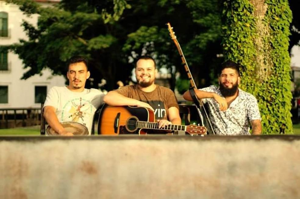 Show com cantor David Brito — Foto: Divulgação