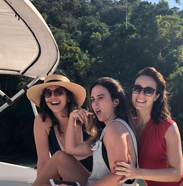 Tatá Werneck, Titi Müller e Mariana Ximenes (Foto: Reprodução/Instagram)