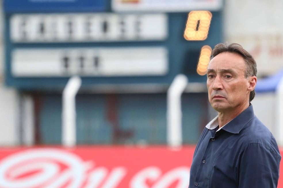 Roberto Fonseca é o novo técnico do Sampaio Corrêa após a saída de Francisco Diá (Foto: Luciano Santos / Mantiqueira)