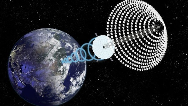 China quer construir até 2050 primeira estação espacial a base de energia solar (Foto: John C. Mankins/Forbes)