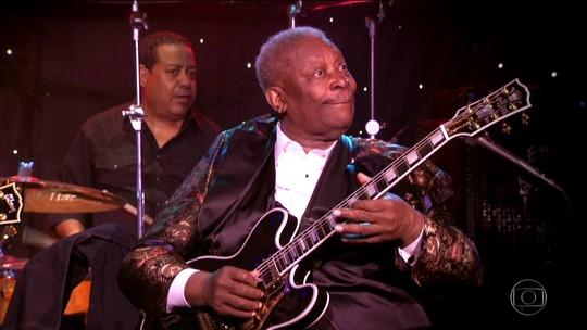 B. B. King, o rei do blues, influenciou gerações com a sua música