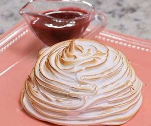 Que Seja Doce: receita de bolo de sorvete e merengue