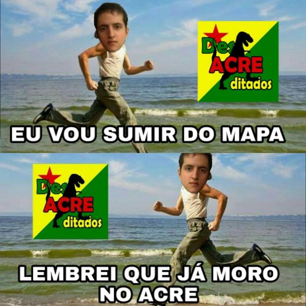 Jovem voltou para casa em Rio Branco nesta sexta-feira (11)  (Foto: Reprodução/Facebook)