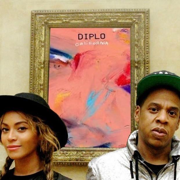 O lançamento do EP fica muito mais instagramável com Beyoncé e Jay-Z, certo? (Foto: Reprodução/Instagram)